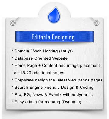 editable designing packages